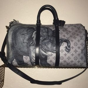 Authentic Louis Vuitton Chapman brothers keepall